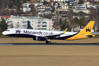 G-ZBAE - Monarch Airlines Airbus A321