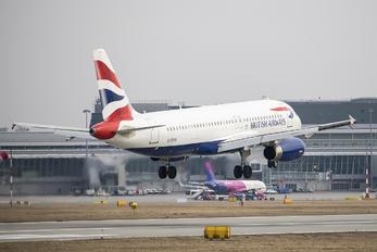 G-EUYA - British Airways Airbus A320