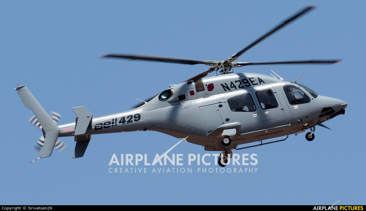 Private N429EA aircraft at Yelahanka AFB