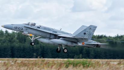 C.15-45 - Spain - Air Force McDonnell Douglas EF-18A Hornet
