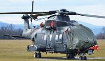 Emergency landing HH101A Caesar in Dubnica title=