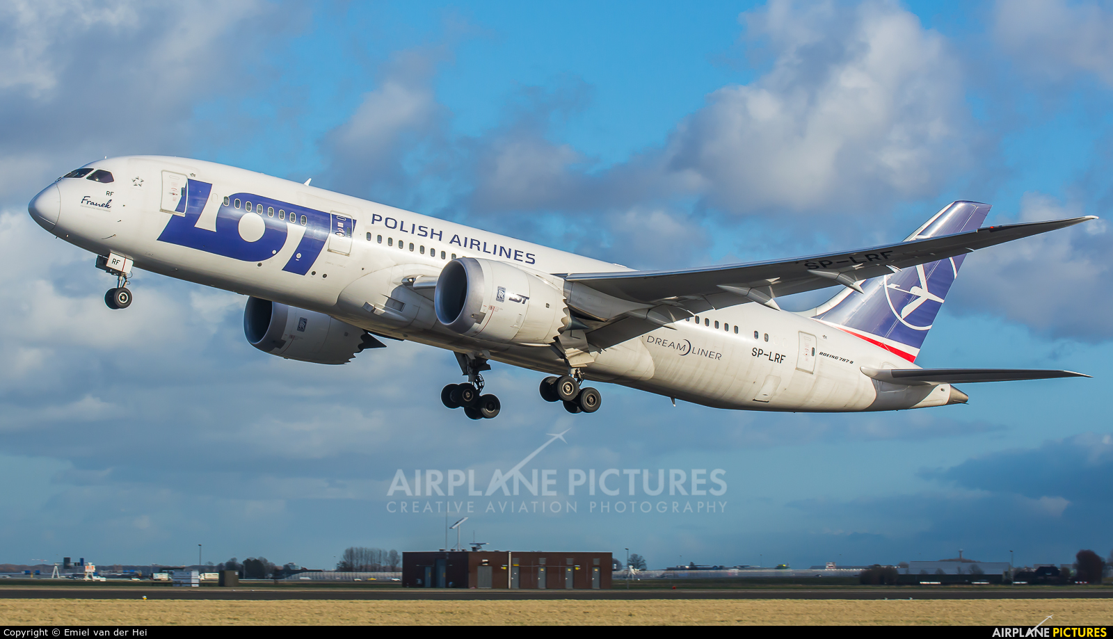LOT - Polish Airlines SP-LRF aircraft at Amsterdam - Schiphol