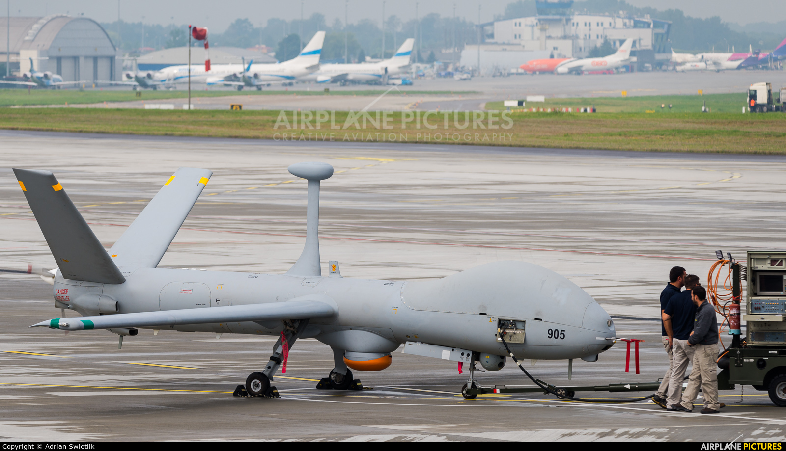 Israel - Defence Force 905 aircraft at Katowice - Pyrzowice