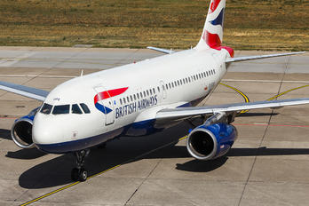 G-EUPE - British Airways Airbus A319