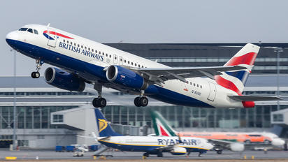 G-EUUC - British Airways Airbus A320