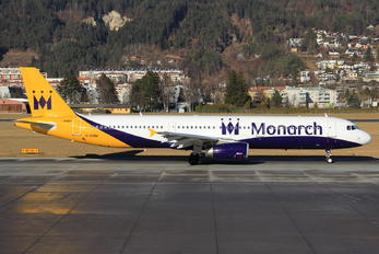 G-OZBM - Monarch Airlines Airbus A321