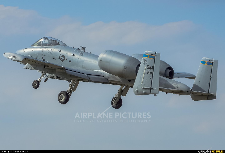 USA - Air Force 81-0956 aircraft at Łask AB