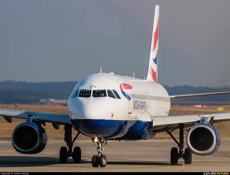 British Airways G-GATH aircraft at Geneva Intl