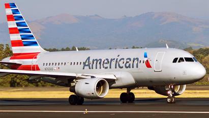 N763US - US Airways Airbus A319