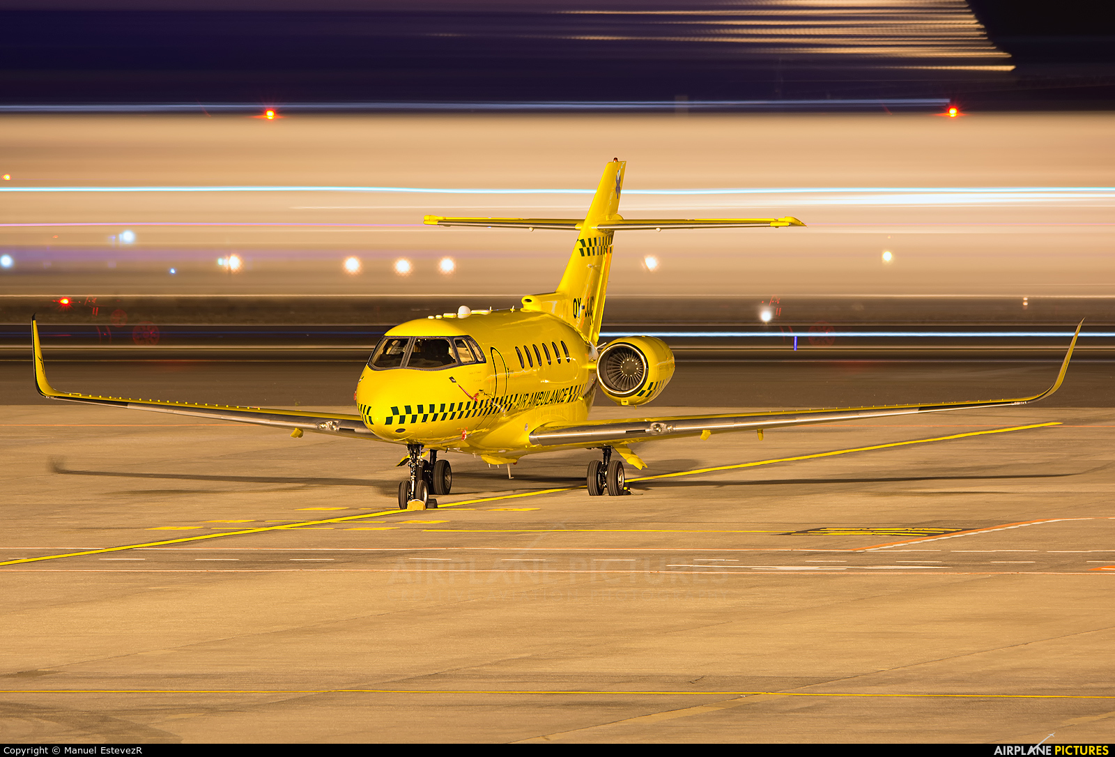 Sun Air OY-JJC aircraft at Tenerife Sur - Reina Sofia