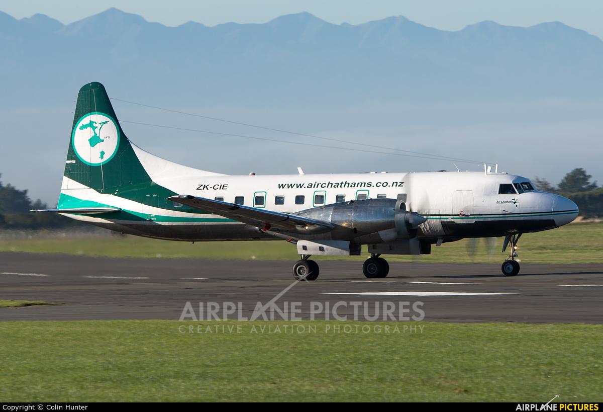 Air Chathams ZK-CIE aircraft at Ohakea