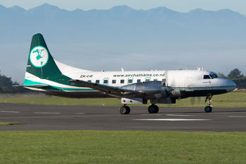 ZK-CIE - Air Chathams Convair CV-580