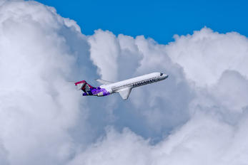 N485HA - Hawaiian Airlines Boeing 717