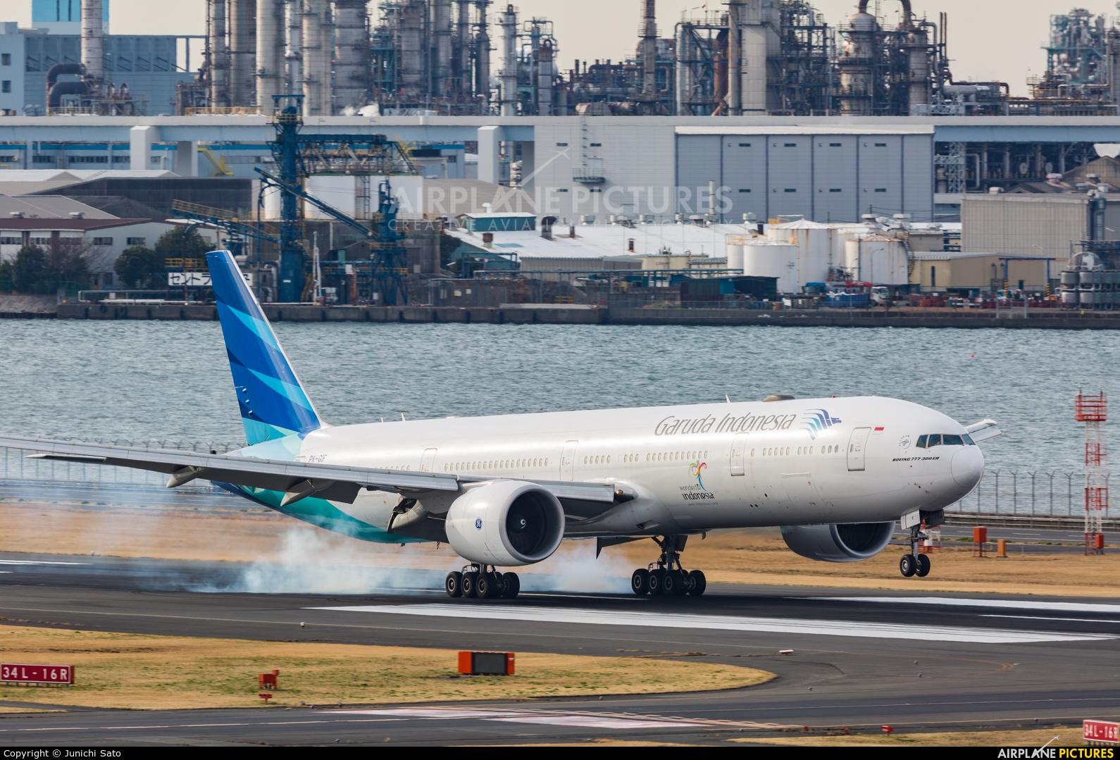 Garuda Indonesia PK-GIF aircraft at Tokyo - Haneda Intl