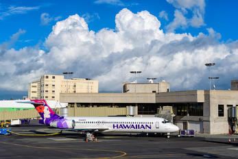 N480HA - Hawaiian Airlines Boeing 717