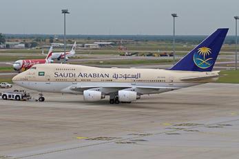 HZ-HM1B - Saudi Arabia - Royal Flight Boeing 747SP