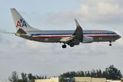 N917AN - American Airlines Boeing 737-800 aircraft