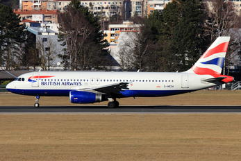 G-MEDK - British Airways Airbus A320