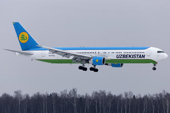 UK67006 - Uzbekistan Airways Boeing 767-300ER