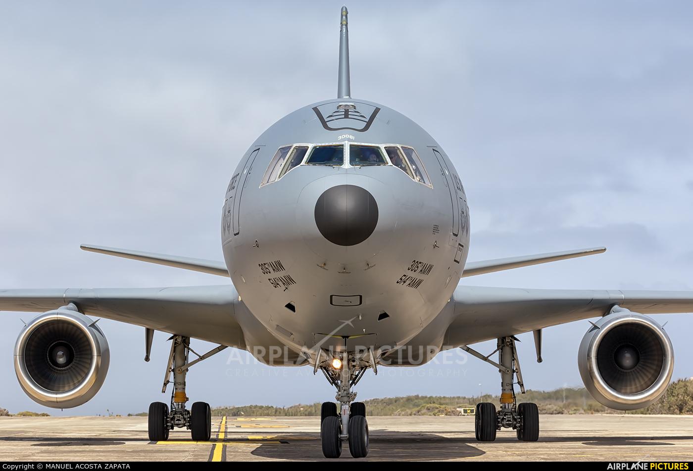 USA - Air Force 83-0081 aircraft at Aeropuerto de Gran Canaria