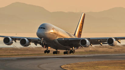 HS-TUC - Thai Airways Airbus A380