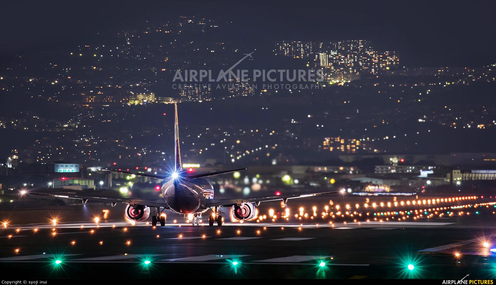 ANA Wings JA8596 aircraft at Osaka - Itami Intl