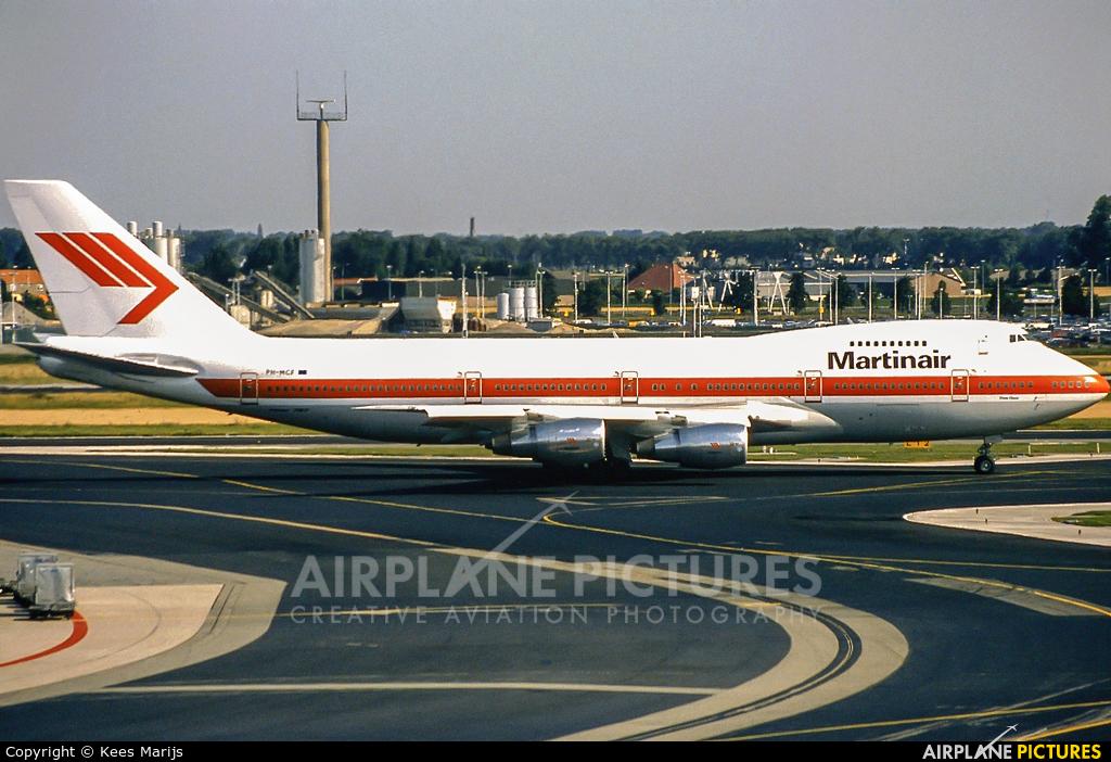 Martinair PH-MCF aircraft at Amsterdam - Schiphol
