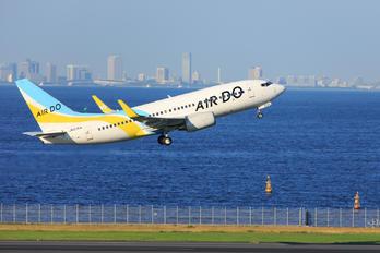 JA07AN - Air Do - Hokkaido International Airlines Boeing 737-700