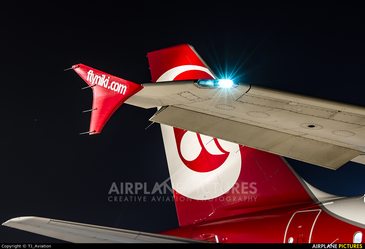 Air Berlin D-ABHH aircraft at Stuttgart