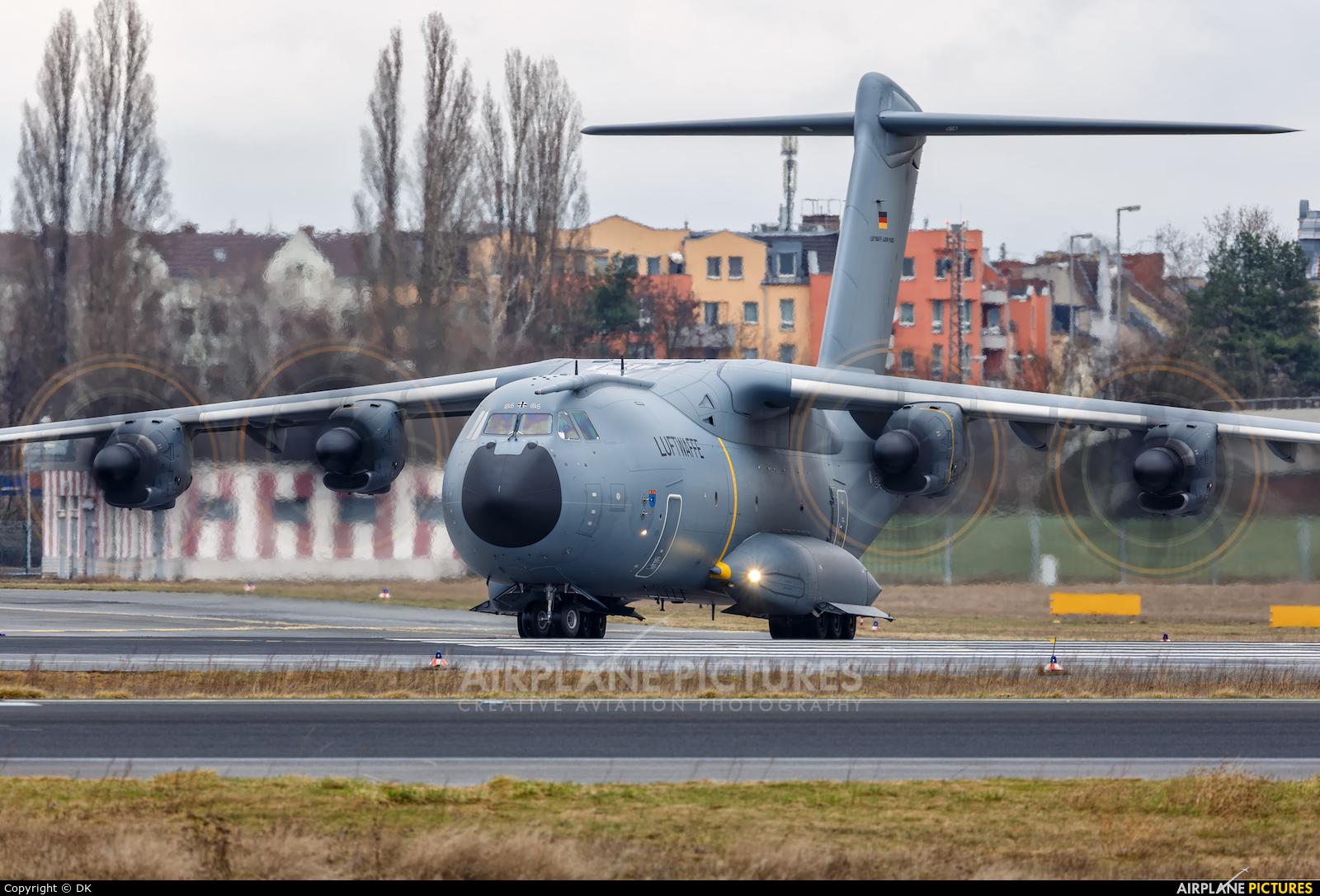 Germany - Air Force 54+04 aircraft at Berlin - Tegel