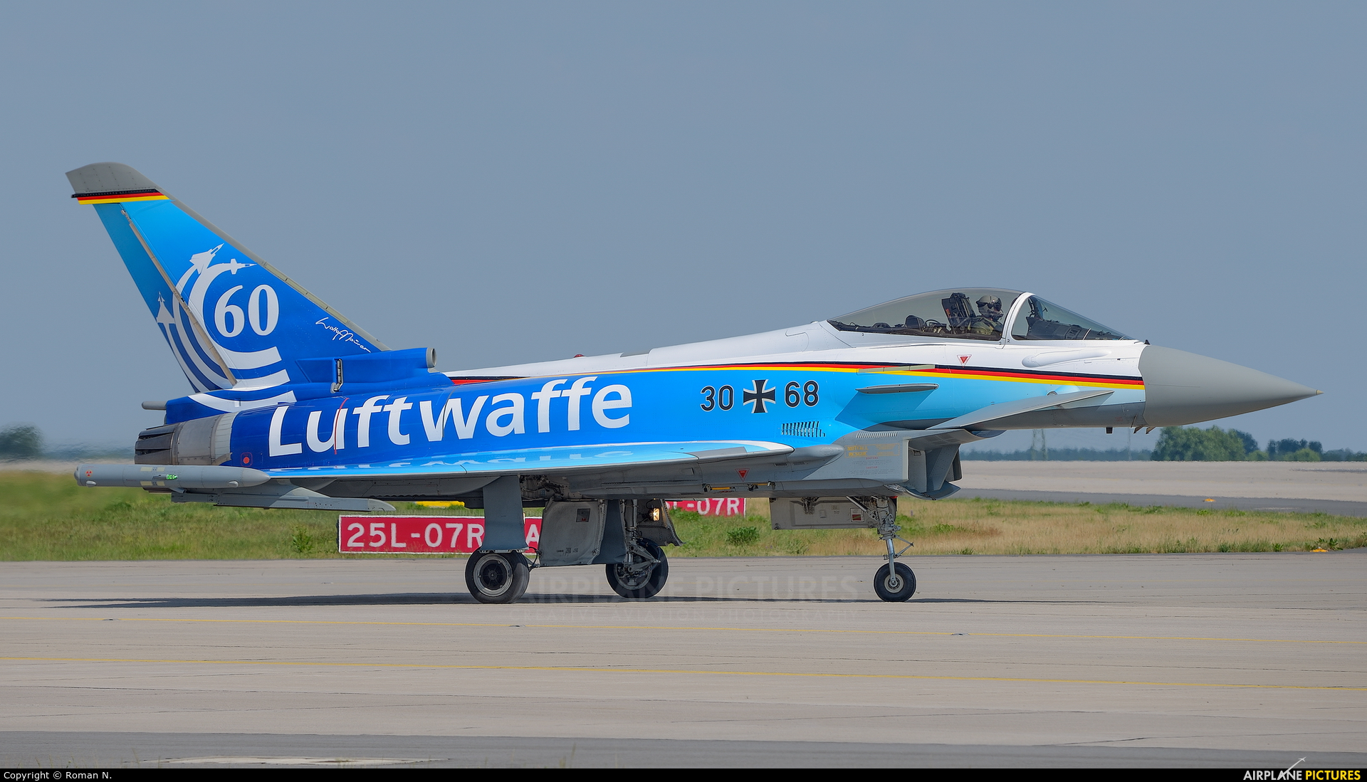 Germany - Air Force 30+68 aircraft at Berlin - Schönefeld