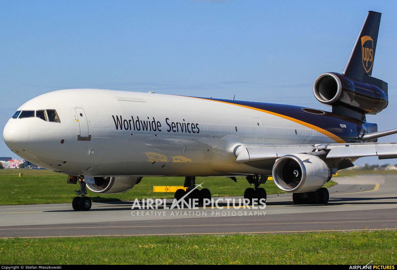 UPS - United Parcel Service N254UP aircraft at Warsaw - Frederic Chopin