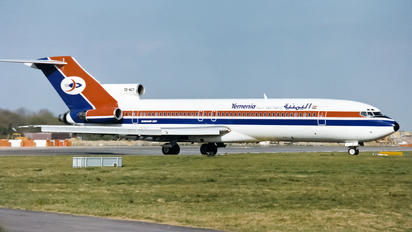 7O-ACY - Yemenia - Yemen Airways Boeing 727-200