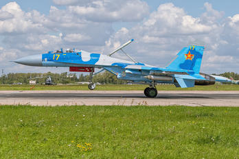 17 - Kazakhstan - Air Force Sukhoi Su-27