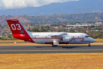 N475NA - Neptune Aviation Services British Aerospace BAe 146-200/Avro RJ85