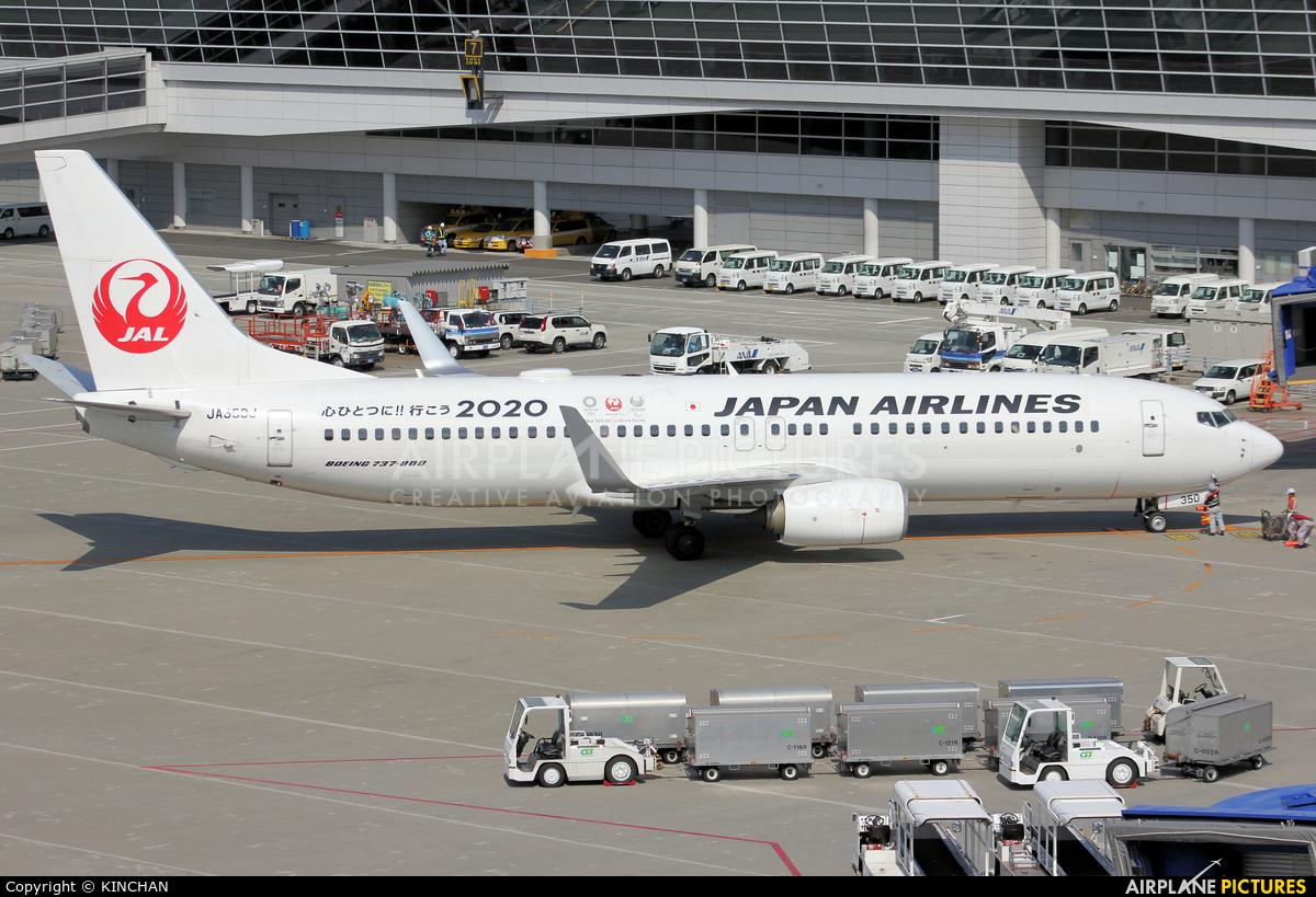 JAL - Japan Airlines JA350J aircraft at Chubu Centrair Intl