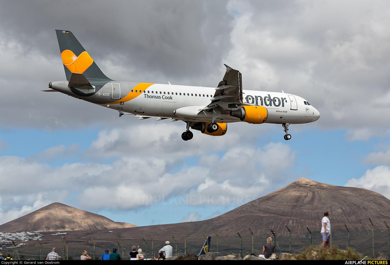 Condor D-AICE aircraft at Lanzarote - Arrecife