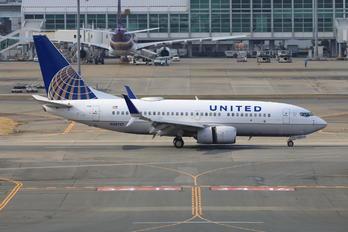 N38727 - United Airlines Boeing 737-700