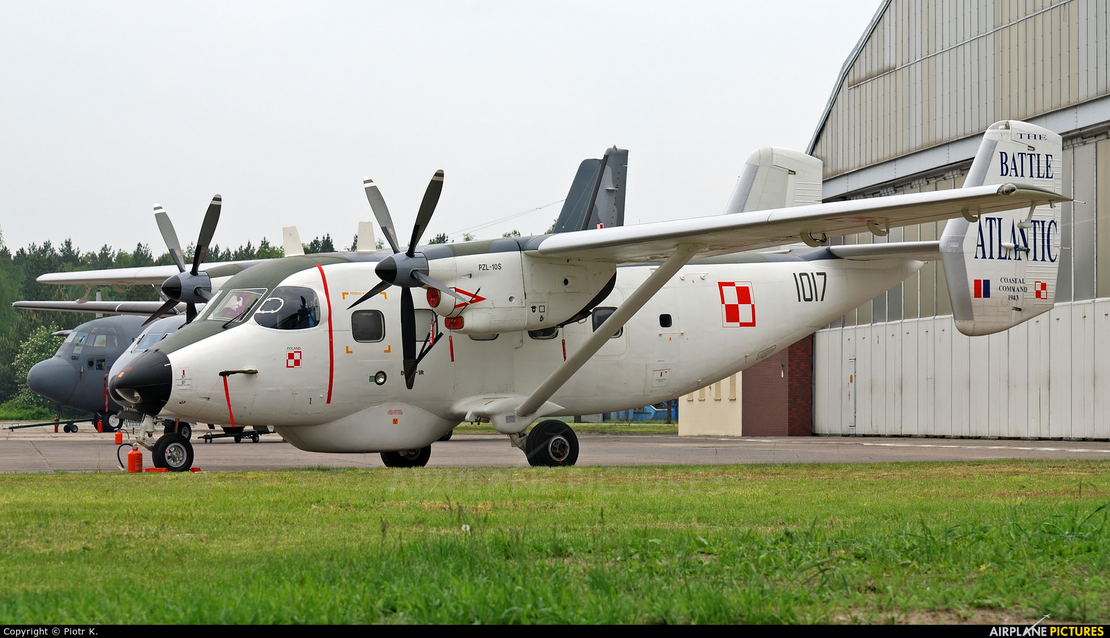 Poland - Navy 1017 aircraft at Bydgoszcz - Szwederowo