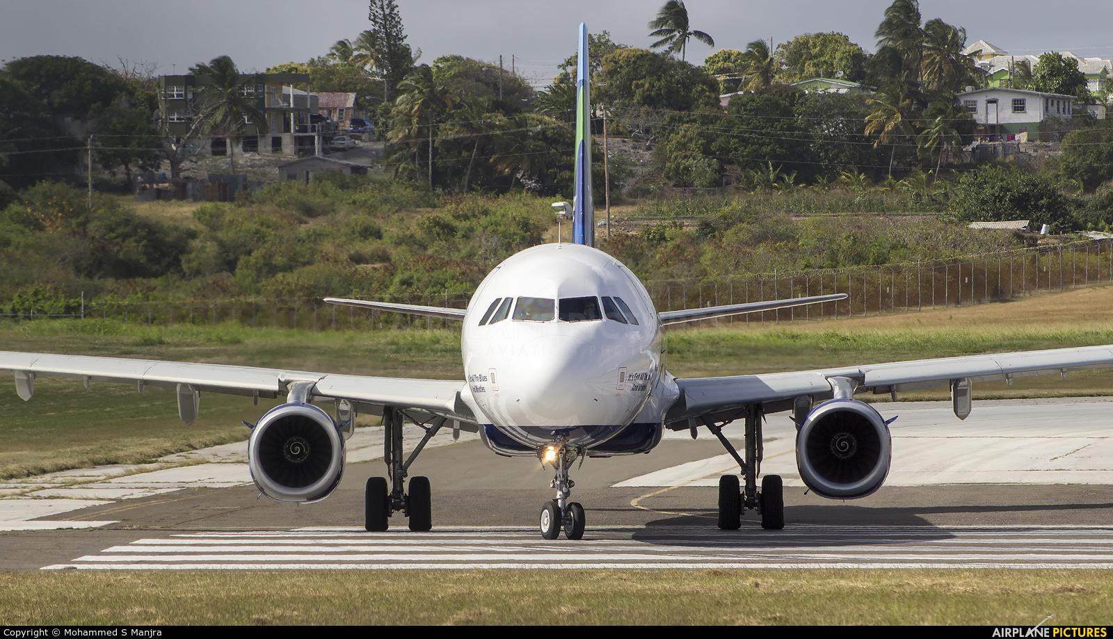 JetBlue Airways N955JB aircraft at Bridgetown