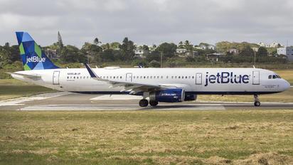 N955JB - JetBlue Airways Airbus A321