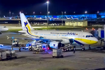 XY-AGR - Myanmar Airways International Airbus A319
