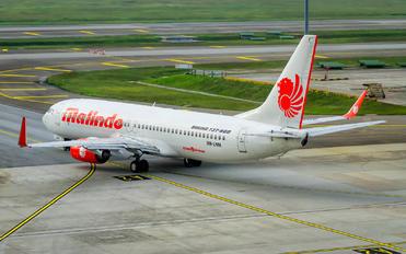 9M-LNM - Malindo Air Boeing 737-800