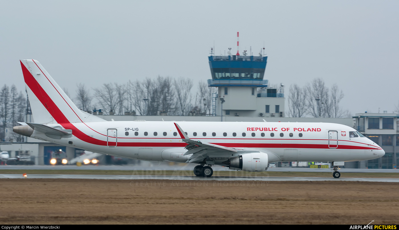 Poland - Government SP-LIG aircraft at Katowice - Pyrzowice