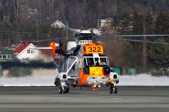 322 - Norway - Royal Norwegian Air Force Westland Sea King Mk.43B