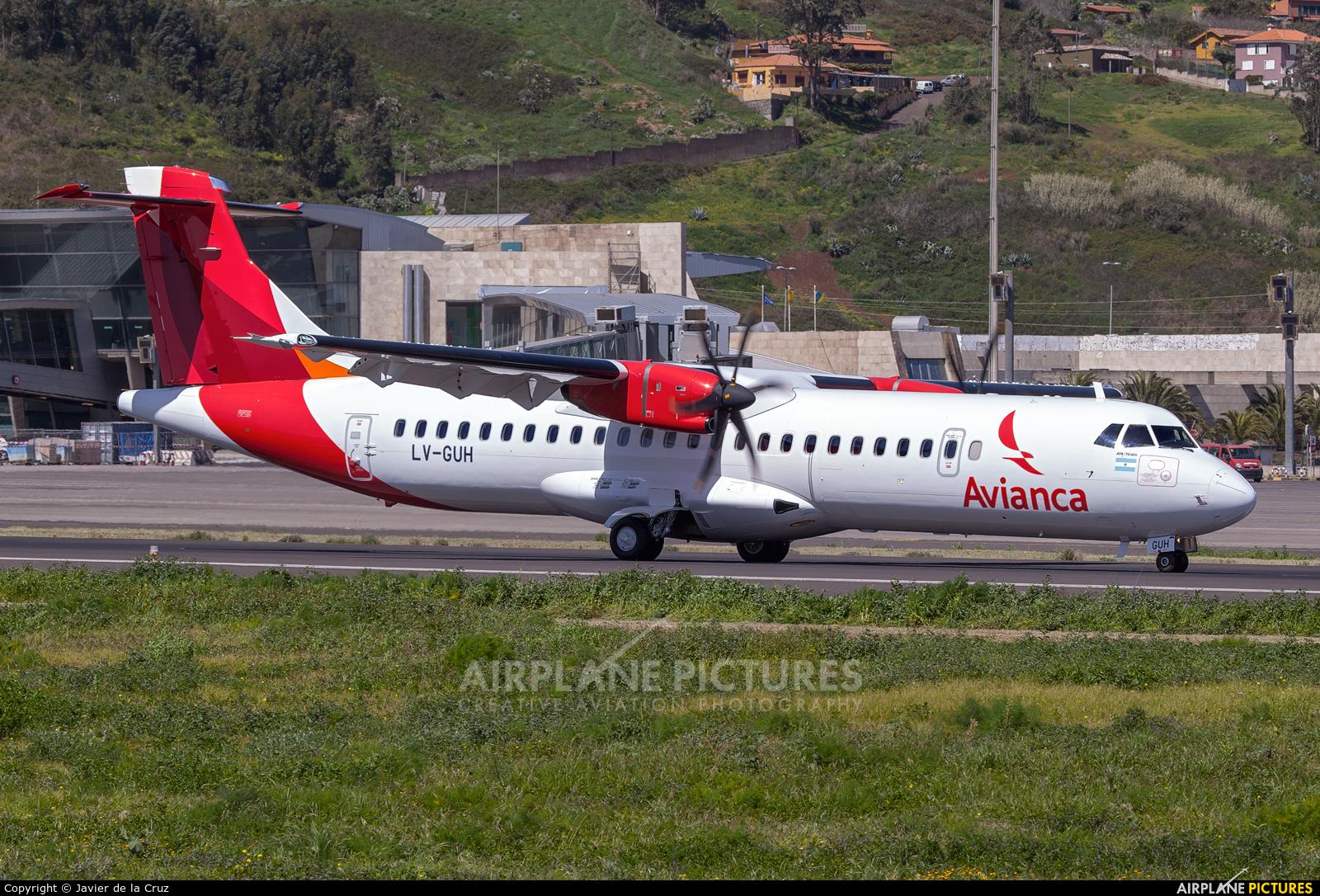 Avianca Argentina LV-GUH aircraft at Tenerife Norte - Los Rodeos