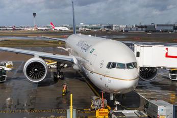 HZ-AK37 - Saudi Arabian Airlines Boeing 777-300ER