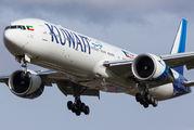 9K-AOE - Kuwait Airways Boeing 777-300ER aircraft