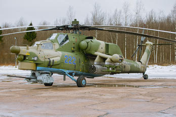 222 - Russia - Air Force Mil Mi-28