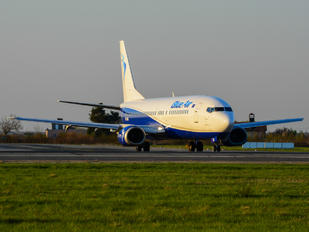 YR-BAR - Blue Air Boeing 737-400